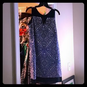 Size 6 blue and white dress from the limited